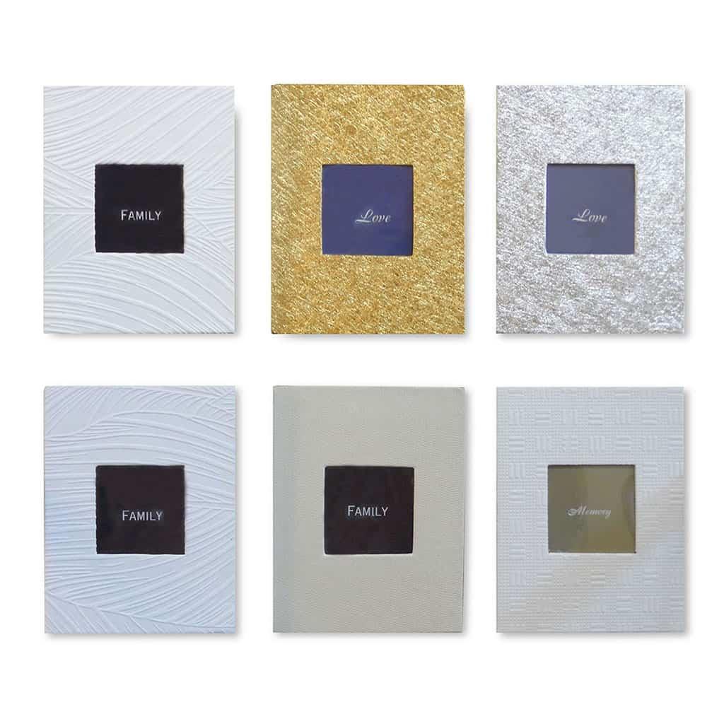 אלבומי תמונות הסדרה הלבנה