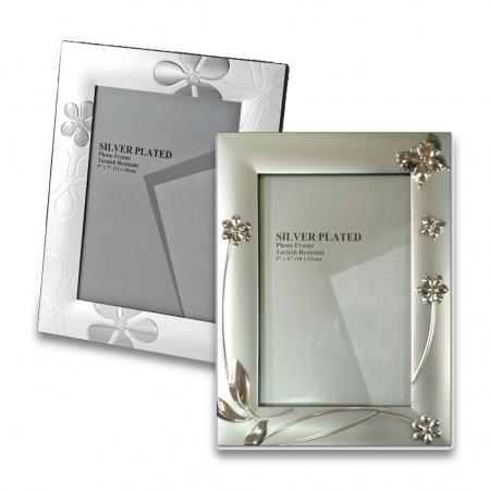 מסגרת מתכת silver
